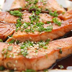 Home-Made Salmon Teriyaki